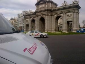 minibus rent Madrid Spain