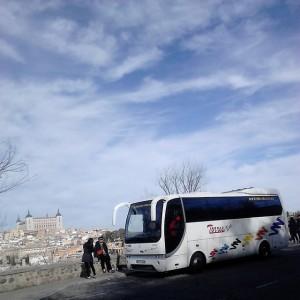 Minibus trip to Europe Madrid - Fatima - Lourdes - Paris - Rome